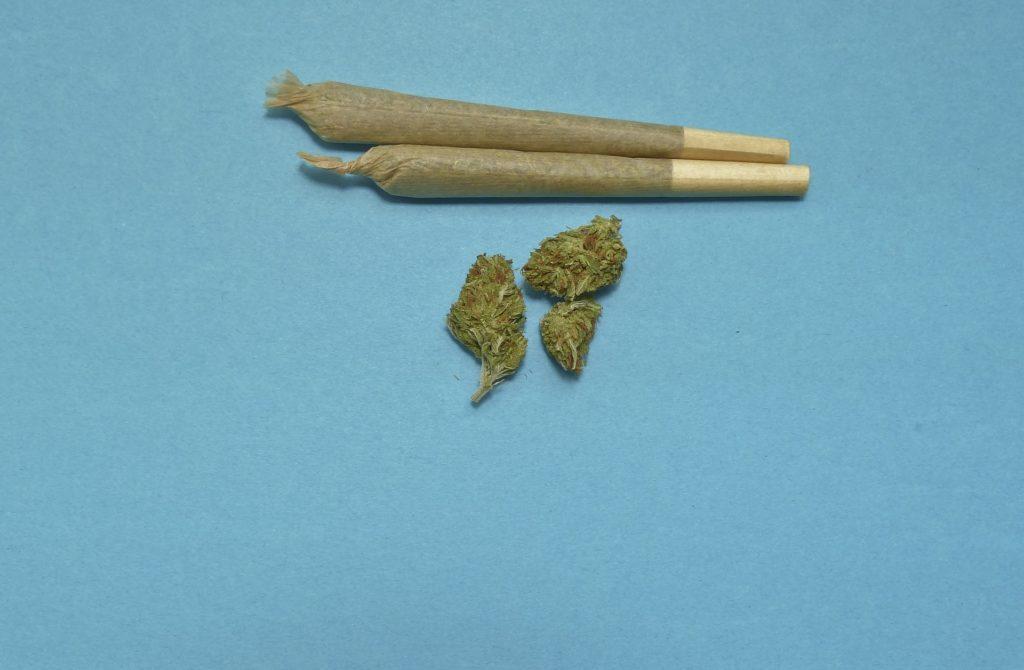 Cannabis Legalisierung mit Joints