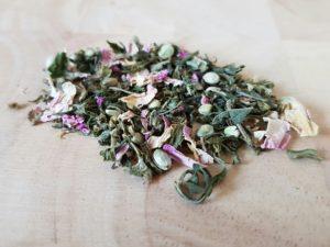 Hanftee und CBD - getrockneter Tee