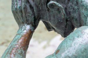 Rheuma-Schmerz was hilft - alter Mann