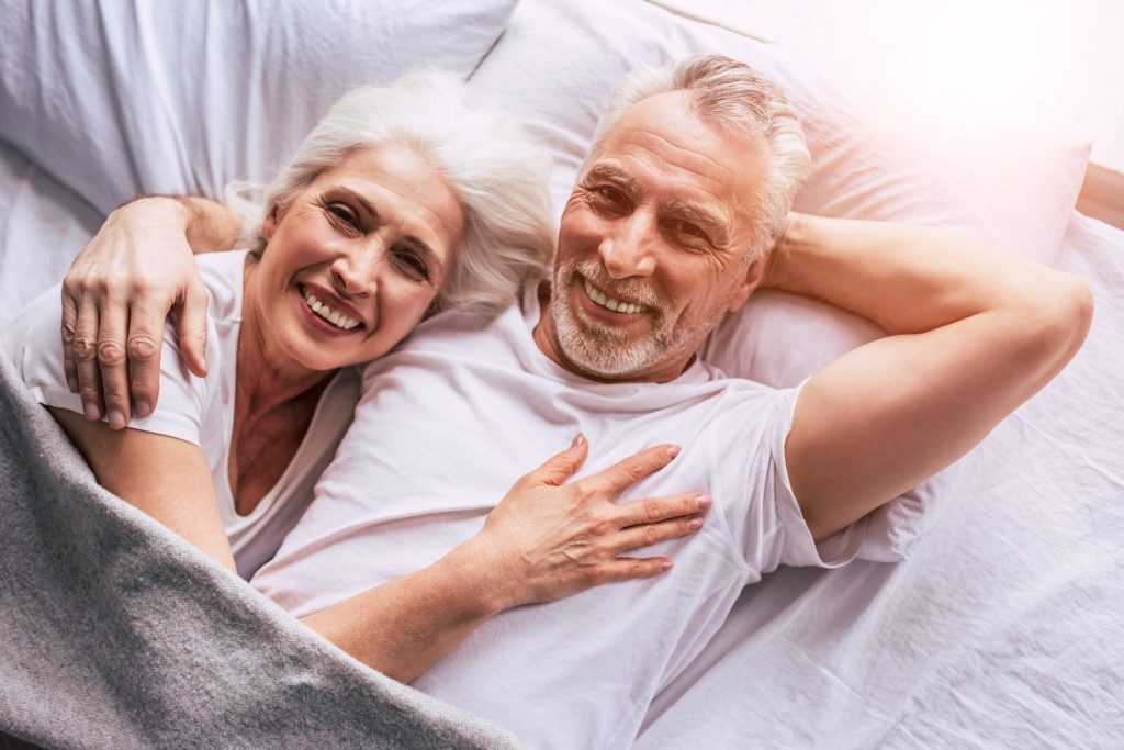 Sex mit CBD - Älteres Pärchen